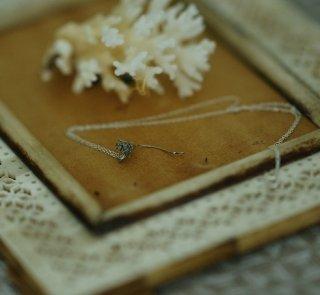 蒲公英-たんぽぽ-の綿毛のネックレス-dandelion/taraxacum officinale necklace (silver925・シルバー)