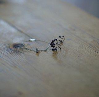 蒲公英-たんぽぽ-の綿毛のブレスレット-dandelion/taraxacum officinale bracelet (silver925・シルバー)