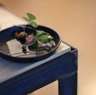 野苺のブレスレット -wild strawberry bracelet- (silver925・シルバー)