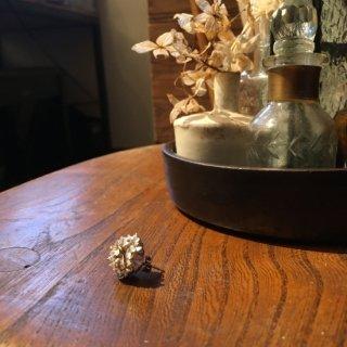 芍薬-しゃくやく/ピオニー のピアス -peony pierce- (silver925・シルバー)