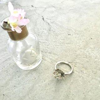 桜-さくら-のリング -sakura/cherry blossom ring- (silver925・シルバー)