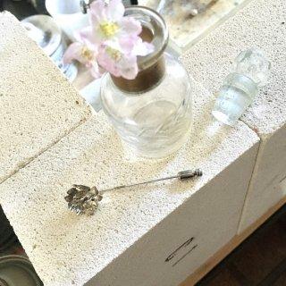 桜-さくら-のピンブローチ -sakura/cherry blossom pin brooch-(silver925・シルバー)
