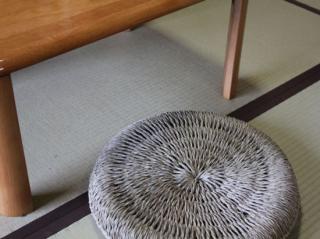 天然物の心地よさ「縄網の円座」55cm