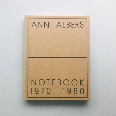 Anni Albers<br>Notebook 1970-1980<br>アニ・アルバース