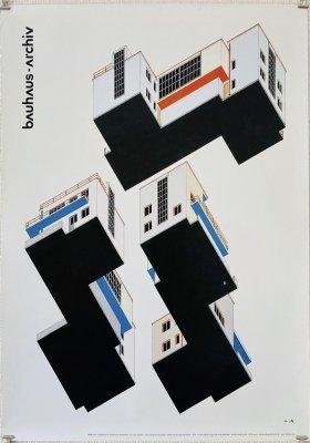 バウハウス ポスター<br>Bauhaus Archiv<br>Alfred Arndt