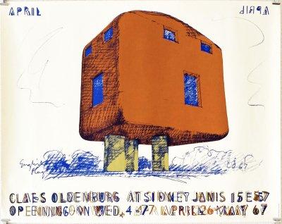 クレス・オルデンバーグ ポスター<br>Claes Oldenburg