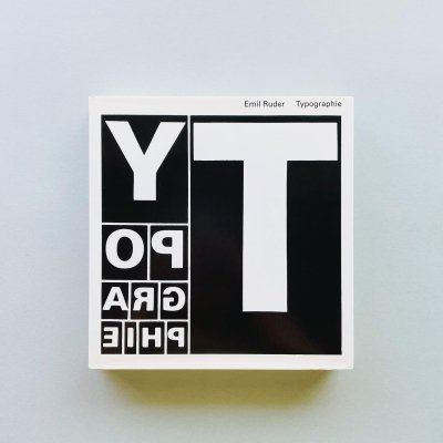 Typographie : A Manual of Design<br>Emil Ruder エミール・ルーダー