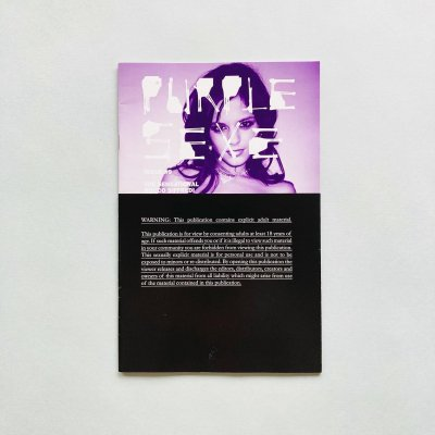 Purple Sexe #9<br>Terry Richardson, Olivier Zahm