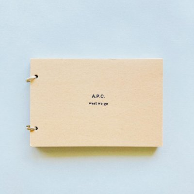 A.P.C. west we go<br>Marianne Chemetov