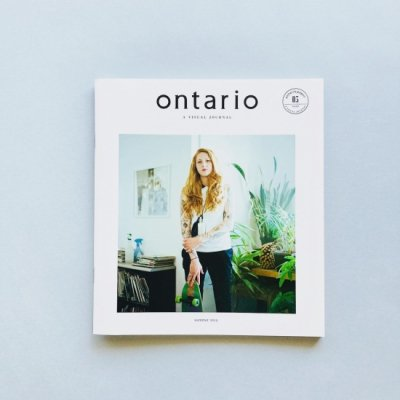ontario No. 3<br>A VISUAL JOURNAL<br>2015 SUMMER