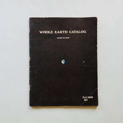 WHOLE  EARTH CATALOG Fall 1969<br>ホール・アース・カタログ<br>Stewart Brand