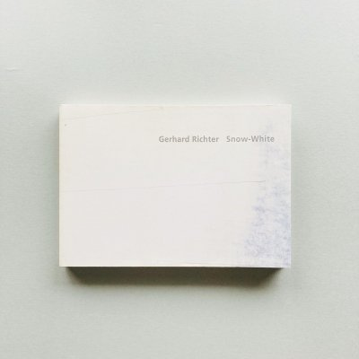 Gerhard Richter<br>Snow-white<br>ゲルハルト・リヒター