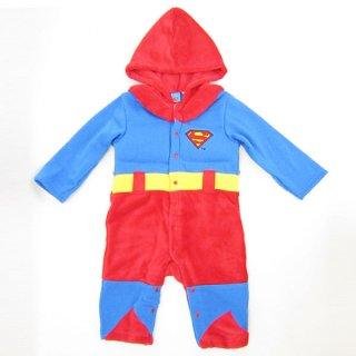 会員様限定50%OFF対象商品!スーパーマン なりきり きぐるみカバーオール (コスチューム/ベビー服) 95cm (SUPERMAN) ベビー用品