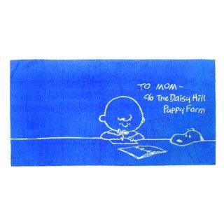 スヌーピー のびのび ピローケース (枕カバー/枕カバー/寝具) ブルー スタディシリーズ (ORSN)