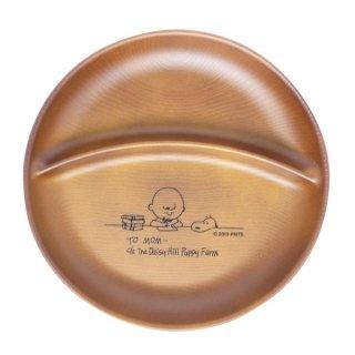 PEANUTSスヌーピーワンプレート STUDY チャーリー・ブラウン&スヌーピお皿(MCOR)