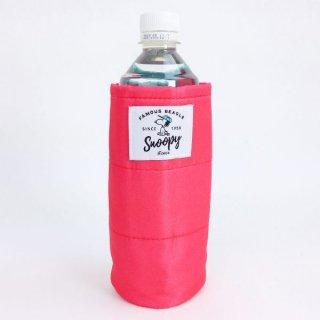 SNOOPY スヌーピー ボトルカバー ファミリー 水筒カバー PINK グッズ