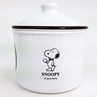 SNOOPY スヌーピー ラウンドストッカーLL 容器 グッズ2,300ml