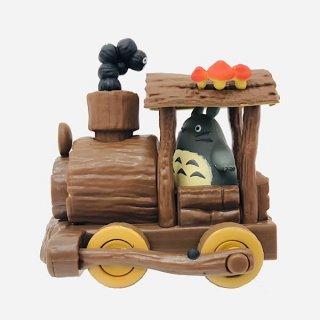 ジブリ となりのトトロ プルバックコレクション トトロの手作り機関車 グッズ