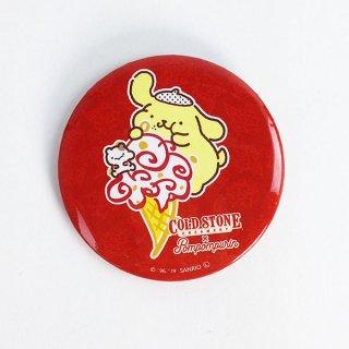 コールドストーン&ポムポムプリン 缶バッジ アイスクリーム