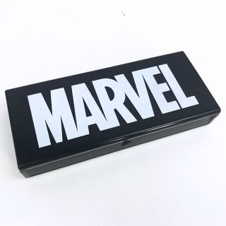 店内セール開催中!30%オフ対象商品 マーベル プラペンケース ブラック BK MARVEL      (MCOR)