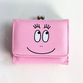 バーバパパ 3ツオリサイフ バーバパパ 財布 折り財布 三つ折り財布 バーバパパ ピンク グッズ(MCOR)