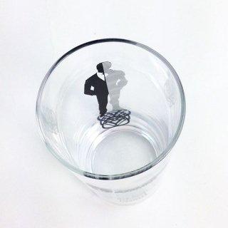 MARVEL トニースターク ジュースグラス シルエット  グラス スターク マーベル グッズ