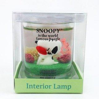 スヌーピー インテリアランプ ハート インテリアランプ ランプ リラックスグッズ 緑 グッズ