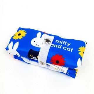 ミッフィー ミッフィーアンドキャット エコバッグバルーン(BL) エコバック 買い物袋  ブルー グッズ(MCD)