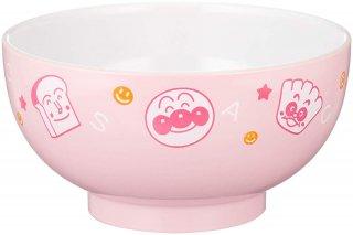 アンパンマン 塗汁椀 (お椀/茶碗) S ピンク キャラクター電子レンジ対応塗汁椀シリーズ キッチン用品