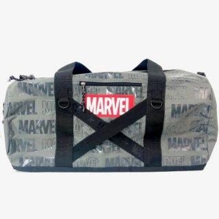 MARVEL マーベル ボストンバッグ クロステープGY MARVEL バッグ グレー グッズ  (MCOR)