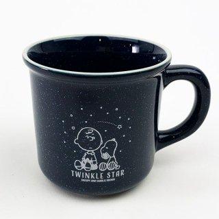 PEANUTS SNOOPY マグカップ Twinkle Star GIFT マグ 食器 インテリア雑貨 青 グッズ  (MCOR)