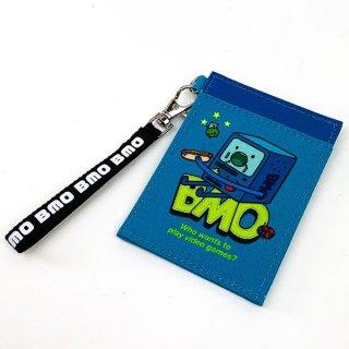 店内セール開催中!30%オフ対象商品 アドベンチャー・タイム BMO シングルパスケース パスケース 定期入れ ICカードケース  グッズ  (MCOR)