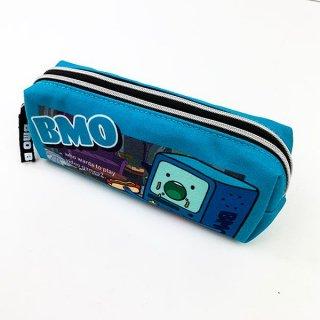 店内セール開催中!10%オフ対象商品 アドベンチャー・タイム BMO Wファスナーペンポーチ ポーチ Wファスナー ペンケース  グッズ  (MCOR)