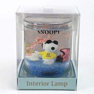 SNOOPY スヌーピー インテリアランプ S ジョークール ランプ フロアランプ インテリアランプ 青 グッズ