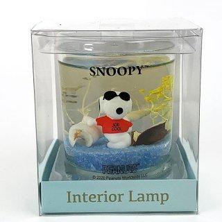 SNOOPY スヌーピー インテリアランプ L ジョークール ランプ フロアランプ インテリアランプ 青 グッズ