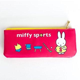 ミッフィー ペンポーチ PKセンター スポーツ 筆箱 ペンケース ピンク  グッズ  (MCOR)