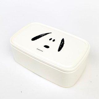 スヌーピー SNOOPY パックランチL フェイススヌーピー お弁当箱 ランチパック タッパー 白 グッズ