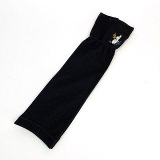 ムーミン UV手袋 フラワー UVケア 日焼け防止 サマー  グレー グッズ