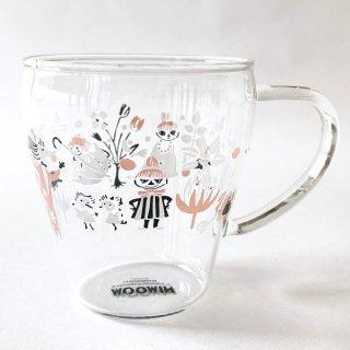 ムーミン リトルミィ 耐熱ガラスマグ 耐熱 グラス ガラスマグ 耐熱グラス 耐熱ガラス 食器 ランチ グッズ