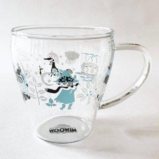 ムーミン スナフキン 耐熱ガラスマグ 耐熱 グラス ガラスマグ 耐熱グラス 耐熱ガラス 食器 ランチ グッズ