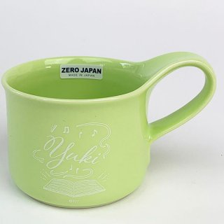 アイドリッシュセブン 千 カフェマグスモール マグ マグカップ スモール アイナナ 食器 ランチ 黄緑 グッズ 日本  (MCOR)