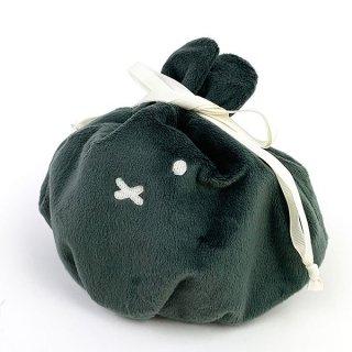 ミッフィー 巾着BAG フェイスGY ミッフィー ポーチ 小物入れ 化粧ポーチ 巾着 グレー グッズ