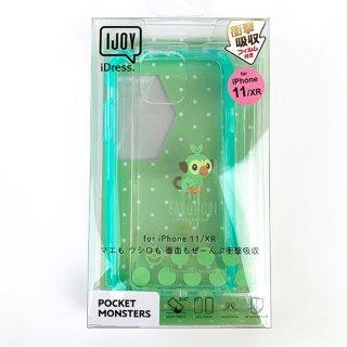 ポケットモンスター サルノリ iPhone11 XR IJOY CL iPhone XR ワイヤレス充電 緑