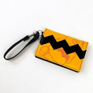 店内セール開催中!10%オフ対象商品 ドラえもん ImGIAN 2つ折りパスケース ジャイアンドラえもん 財布 コインケース オレンジ  (MCOR)