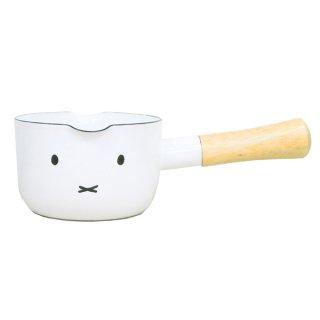 miffy ミッフィー 12cmミルクパン ミッフィーフェイス キッチン 鍋 食器 ブルーナ  ホワイト