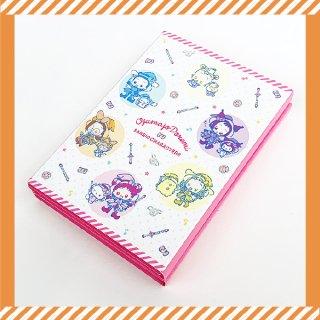 おジャ魔女どれみ パタパタメモ おジャ魔女×サンリオキャラクターズ メモ帳 ピンク グッズ