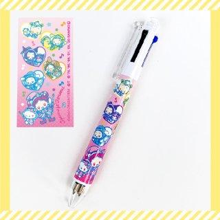 おジャ魔女どれみ シャープ&3色ボールペン おジャ魔女×サンリオキャラクターズ ピンク グッズ