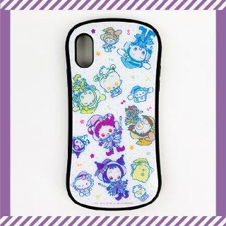 おジャ魔女どれみ iPhoneXR ケース WH おジャ魔女×サンリオキャラクターズ スマホケース