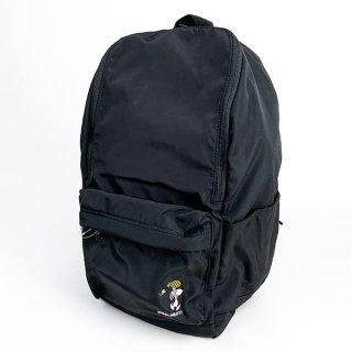 スヌーピー オープンワイドデイパック パイナップル スヌーピー デイパック バッグパック リュック  黒 グッズ  (MCOR)