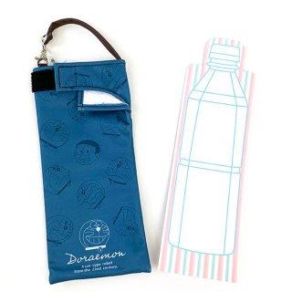 Doraemon ドラえもん くるポン フェイスちらし 雨具 KURUPON ペットボトルホルダー 折り畳み傘 収納